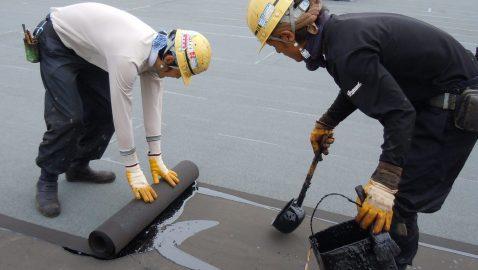【実績100年以上】防水の原点アスファルト防水とは?