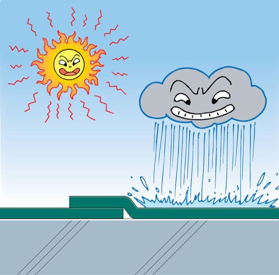 たった1回の施工で耐用年数が4倍になる防水仕様とは?