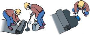 アスファルト防水熱工法・湿気硬化型工法