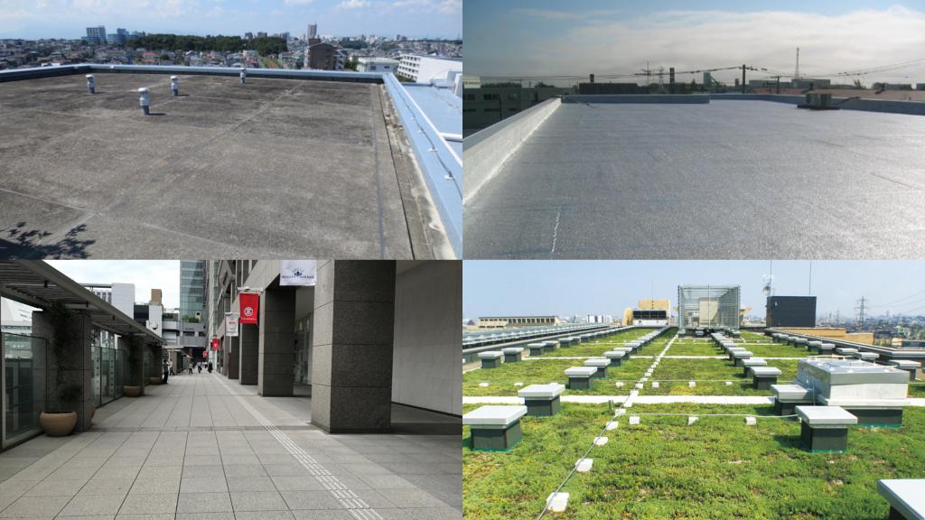 屋上の様々な用途